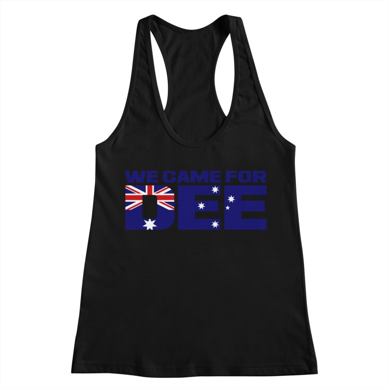 Come for DEE Women's Racerback Tank by Challenge Mania Shop