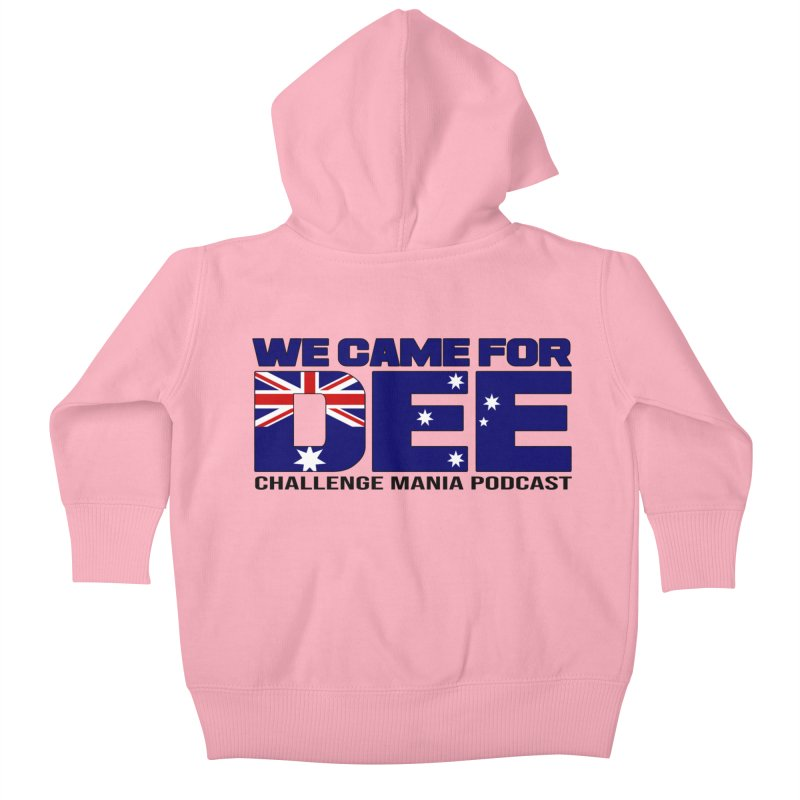 Come for DEE Kids Baby Zip-Up Hoody by Challenge Mania Shop