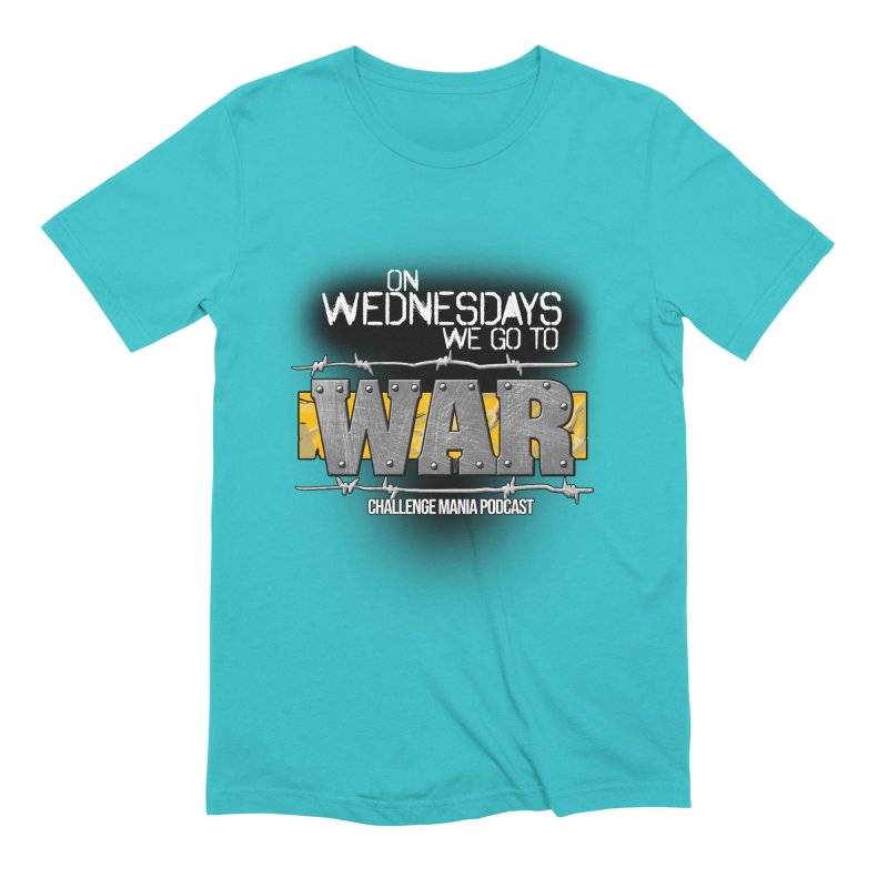 WE GO TO WAR! Men's Extra Soft T-Shirt by Challenge Mania Shop