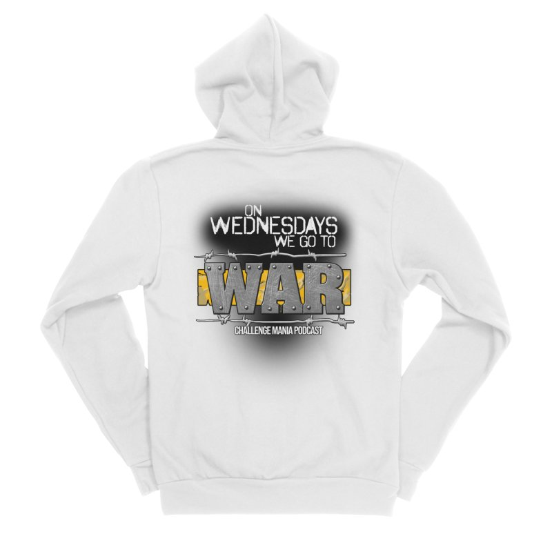 WE GO TO WAR! Women's Sponge Fleece Zip-Up Hoody by Challenge Mania Shop