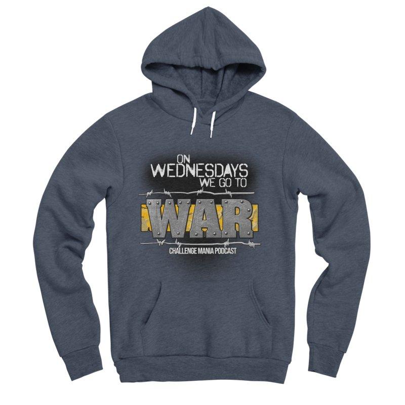 WE GO TO WAR! Women's Sponge Fleece Pullover Hoody by Challenge Mania Shop
