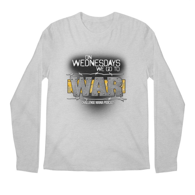 WE GO TO WAR! Men's Regular Longsleeve T-Shirt by Challenge Mania Shop