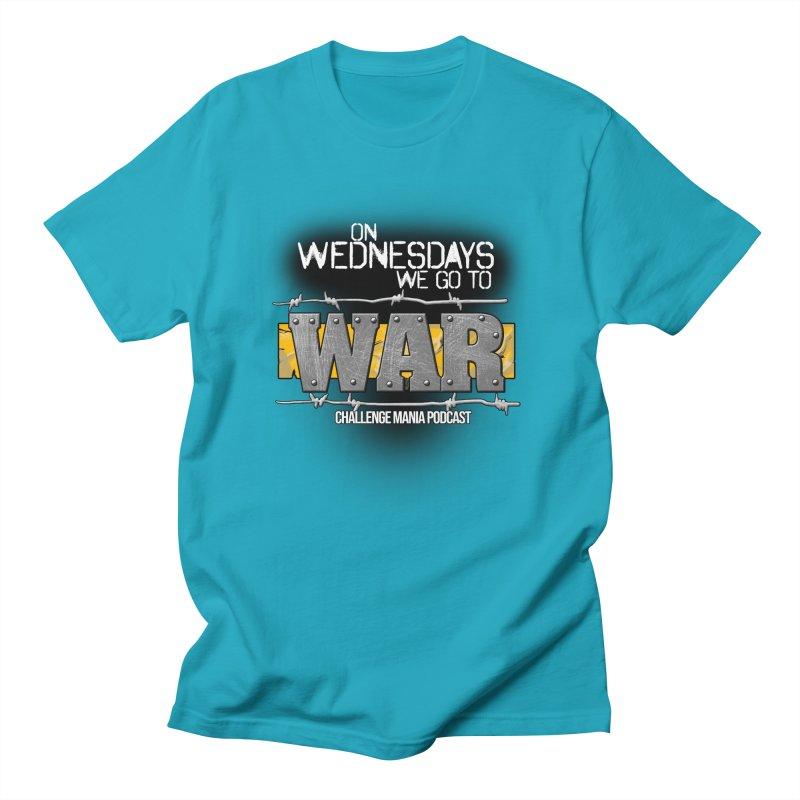 WE GO TO WAR! Men's Regular T-Shirt by Challenge Mania Shop