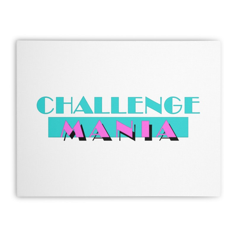 MIAMI VICE Home Stretched Canvas by Challenge Mania Shop