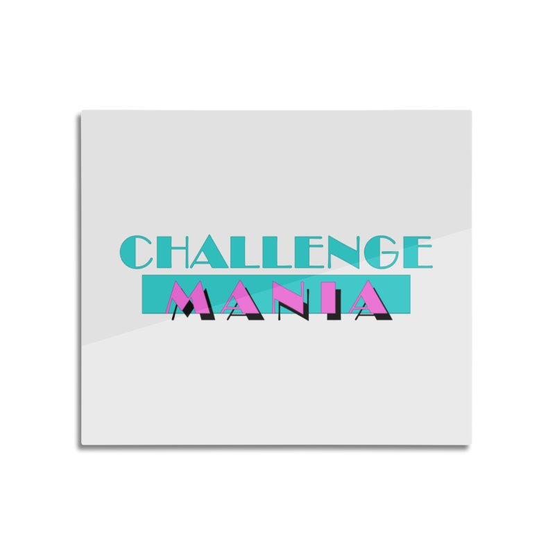 MIAMI VICE Home Mounted Aluminum Print by Challenge Mania Shop