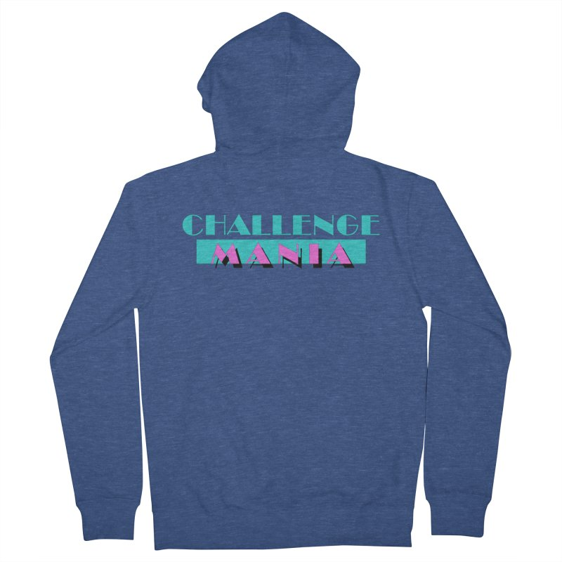 MIAMI VICE Men's French Terry Zip-Up Hoody by Challenge Mania Shop