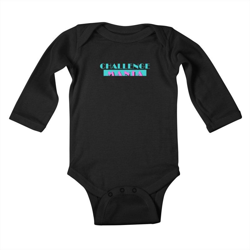 MIAMI VICE Kids Baby Longsleeve Bodysuit by Challenge Mania Shop