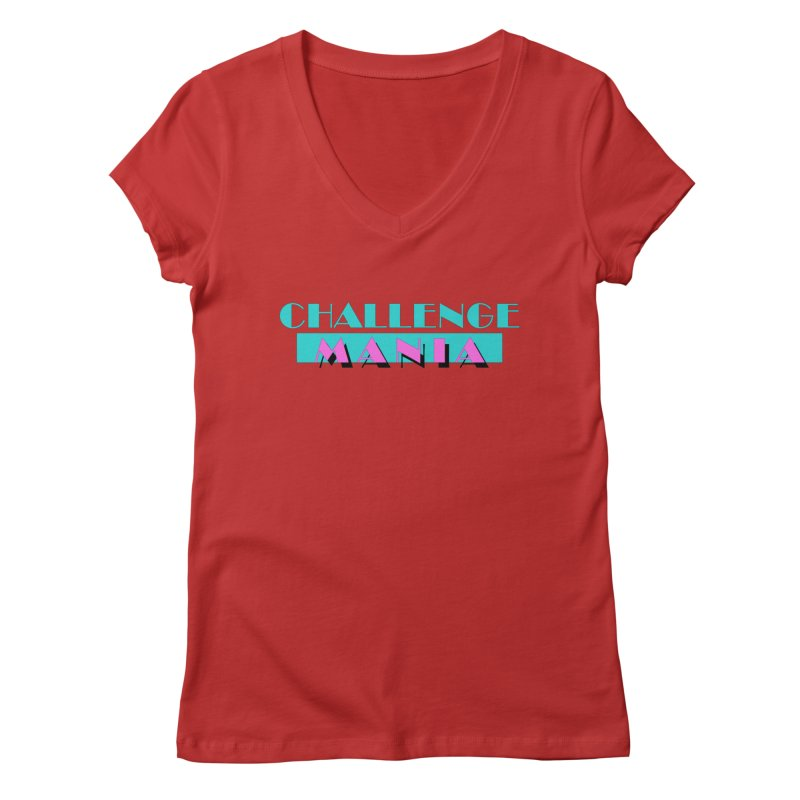 MIAMI VICE Women's Regular V-Neck by Challenge Mania Shop