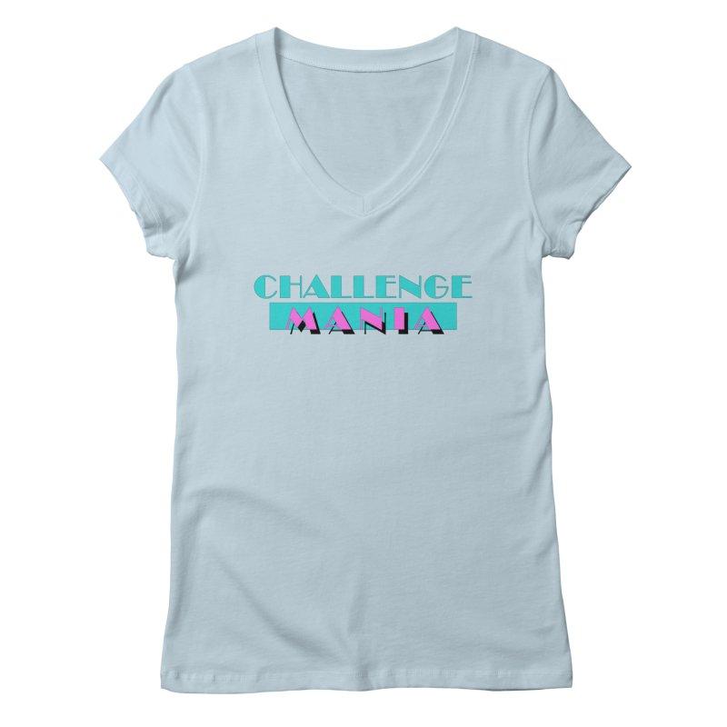 MIAMI VICE Women's Regular V-Neck by Challenge Mania Shop