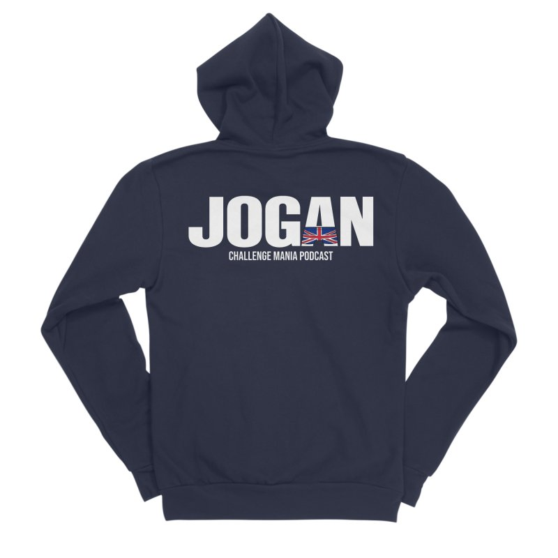 JOGAN Women's Sponge Fleece Zip-Up Hoody by Challenge Mania Shop