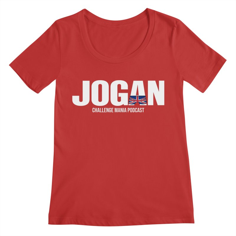 JOGAN Women's Scoop Neck by Challenge Mania Shop