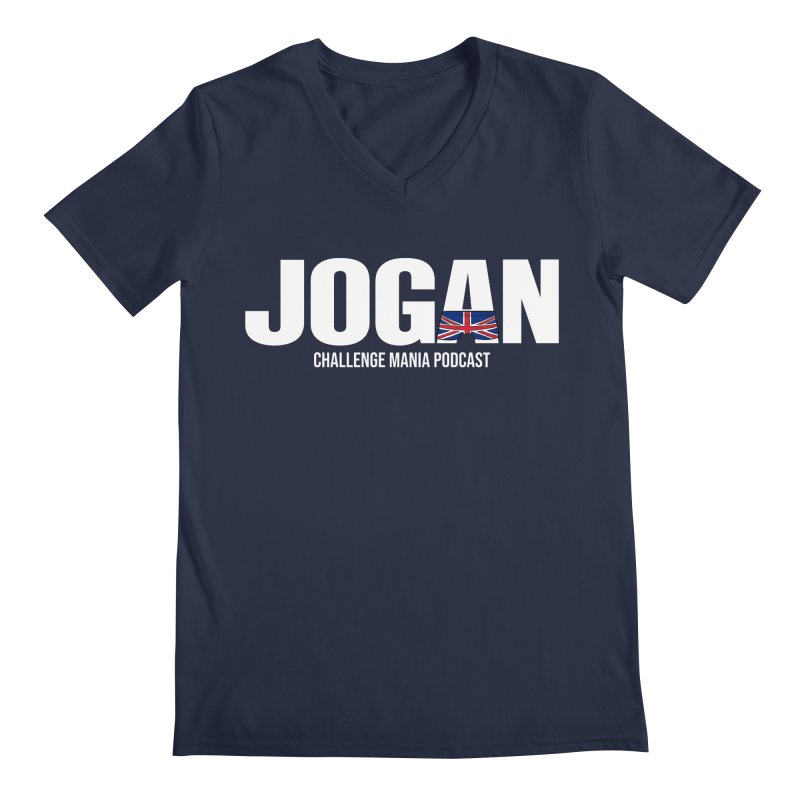 JOGAN Men's Regular V-Neck by Challenge Mania Shop