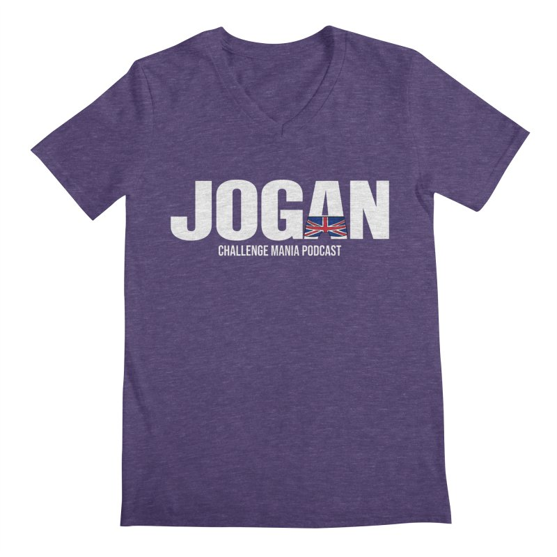 JOGAN Men's Regular V-Neck by Challenge Mania Shop