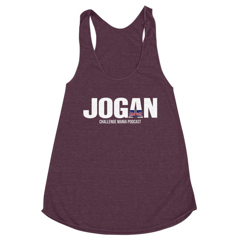 JOGAN Women's Racerback Triblend Tank by Challenge Mania Shop