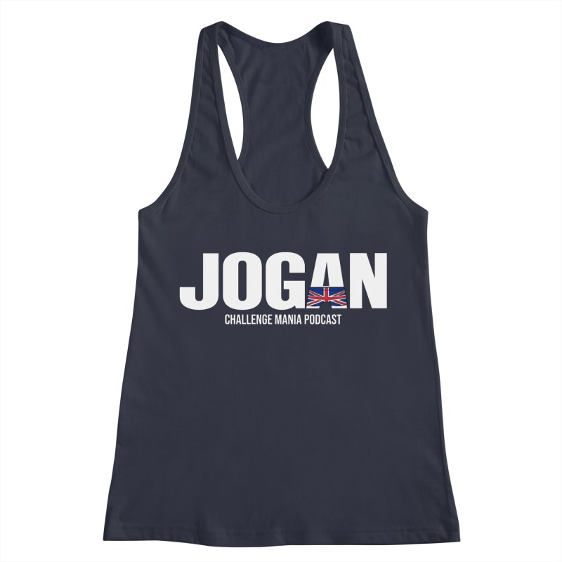 JOGAN Women's Racerback Tank by Challenge Mania Shop