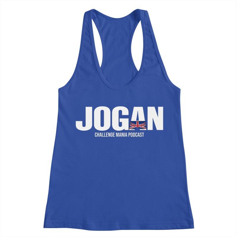 JOGAN Women's Racerback Tank by Challenge Mania Shop