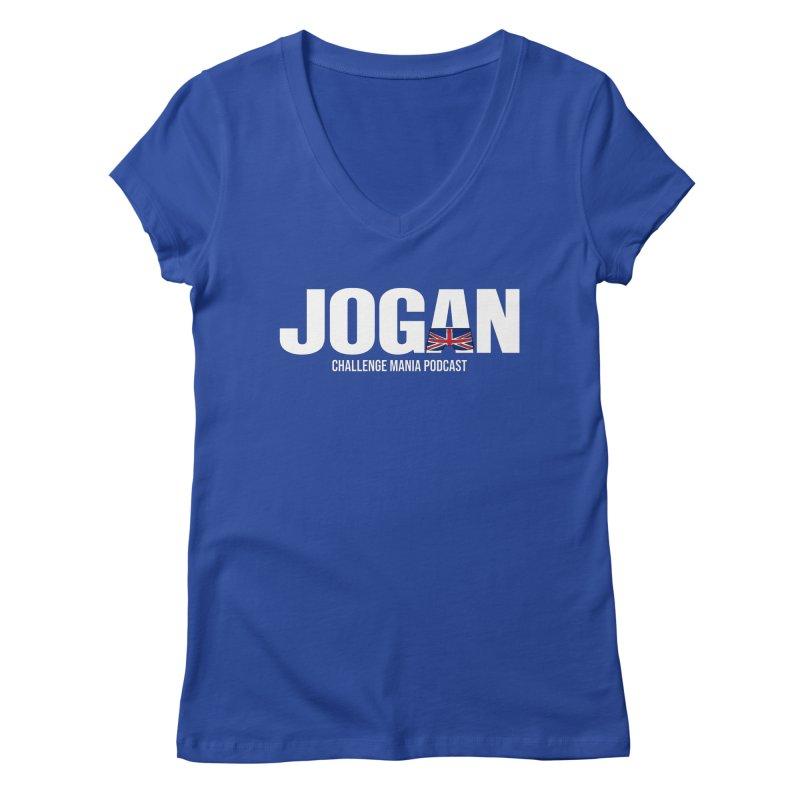 JOGAN Women's Regular V-Neck by Challenge Mania Shop