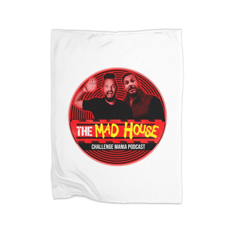MAD HOUSE Home Fleece Blanket Blanket by Challenge Mania Shop