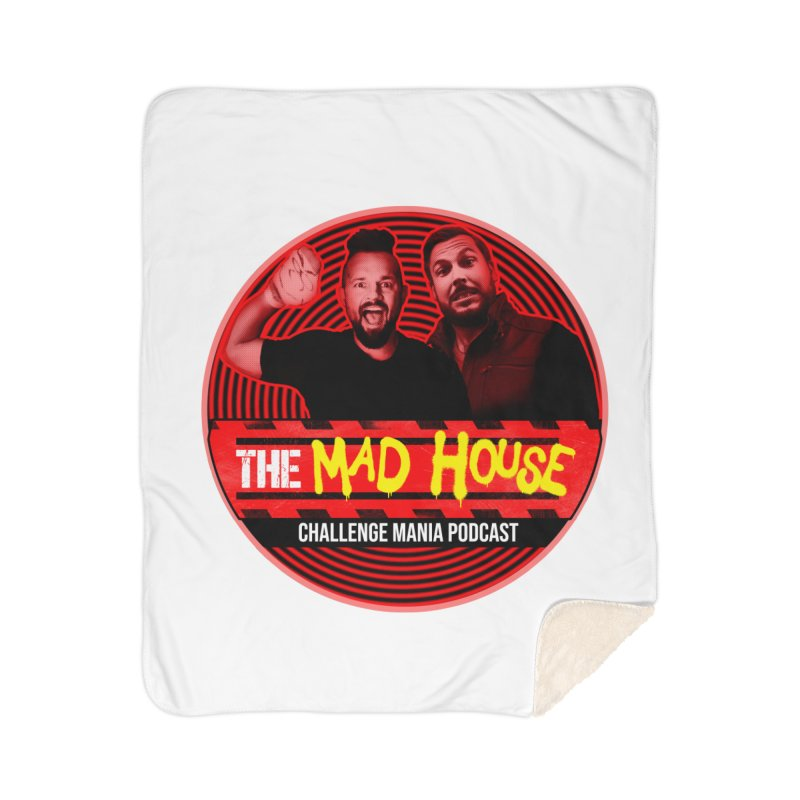 MAD HOUSE Home Sherpa Blanket Blanket by Challenge Mania Shop