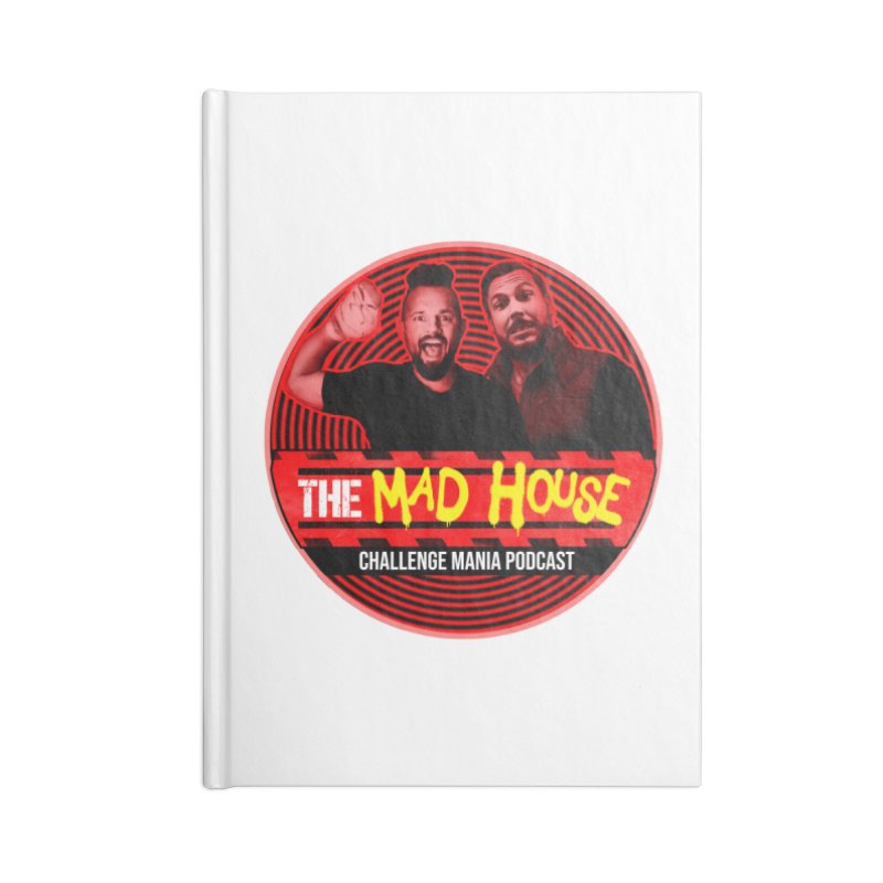 MAD HOUSE Accessories Blank Journal Notebook by Challenge Mania Shop