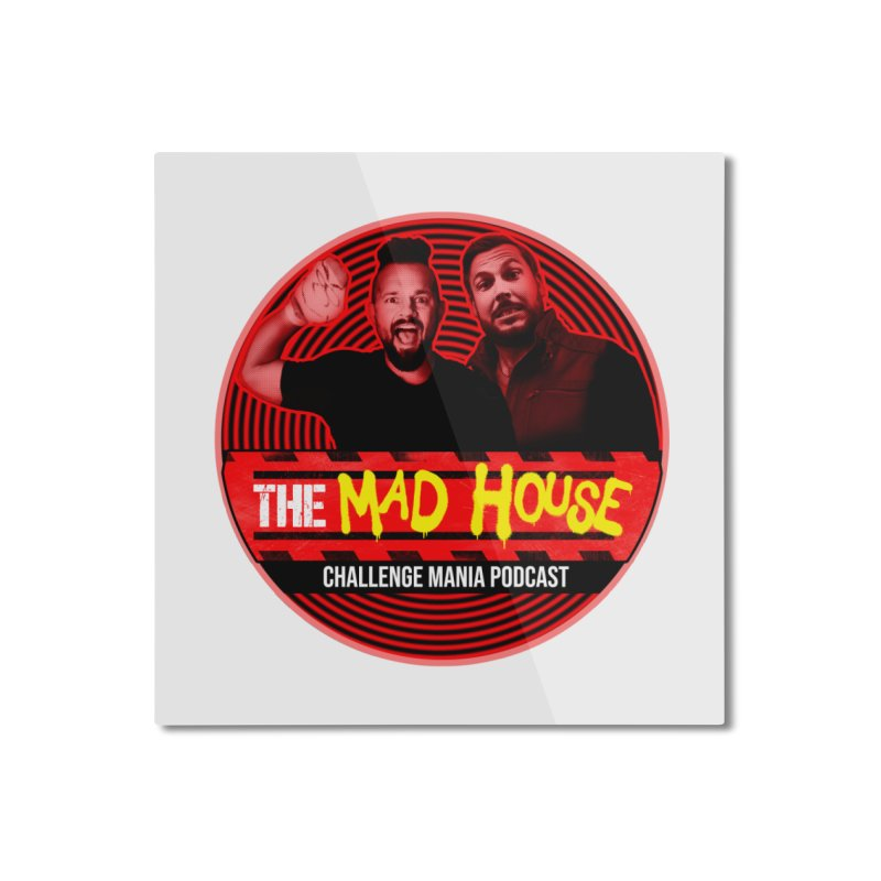 MAD HOUSE Home Mounted Aluminum Print by Challenge Mania Shop