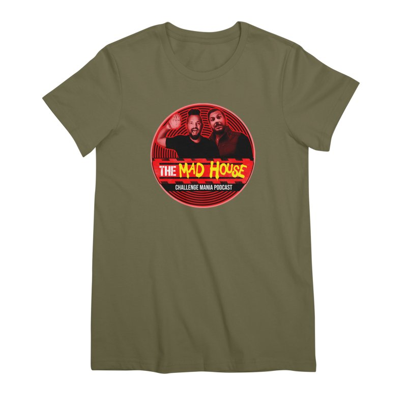 MAD HOUSE Women's Premium T-Shirt by Challenge Mania Shop