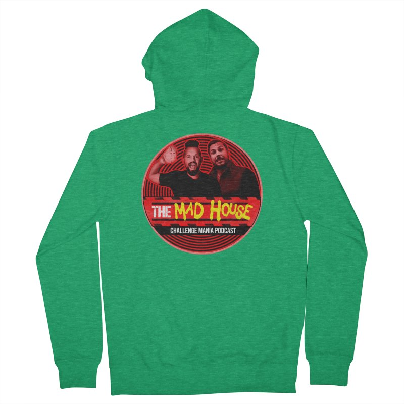 MAD HOUSE Women's Zip-Up Hoody by Challenge Mania Shop