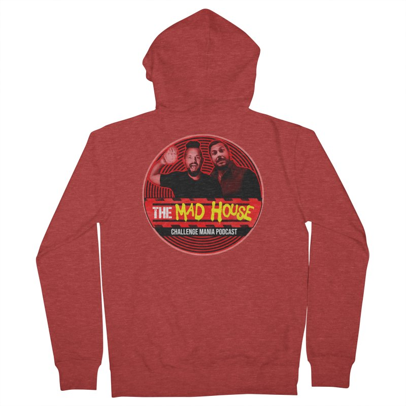 MAD HOUSE Men's French Terry Zip-Up Hoody by Challenge Mania Shop