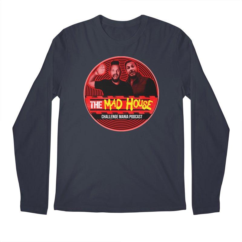 MAD HOUSE Men's Regular Longsleeve T-Shirt by Challenge Mania Shop