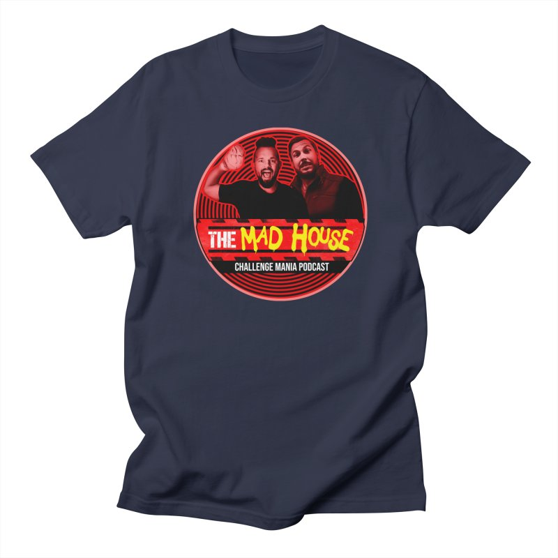MAD HOUSE Men's Regular T-Shirt by Challenge Mania Shop