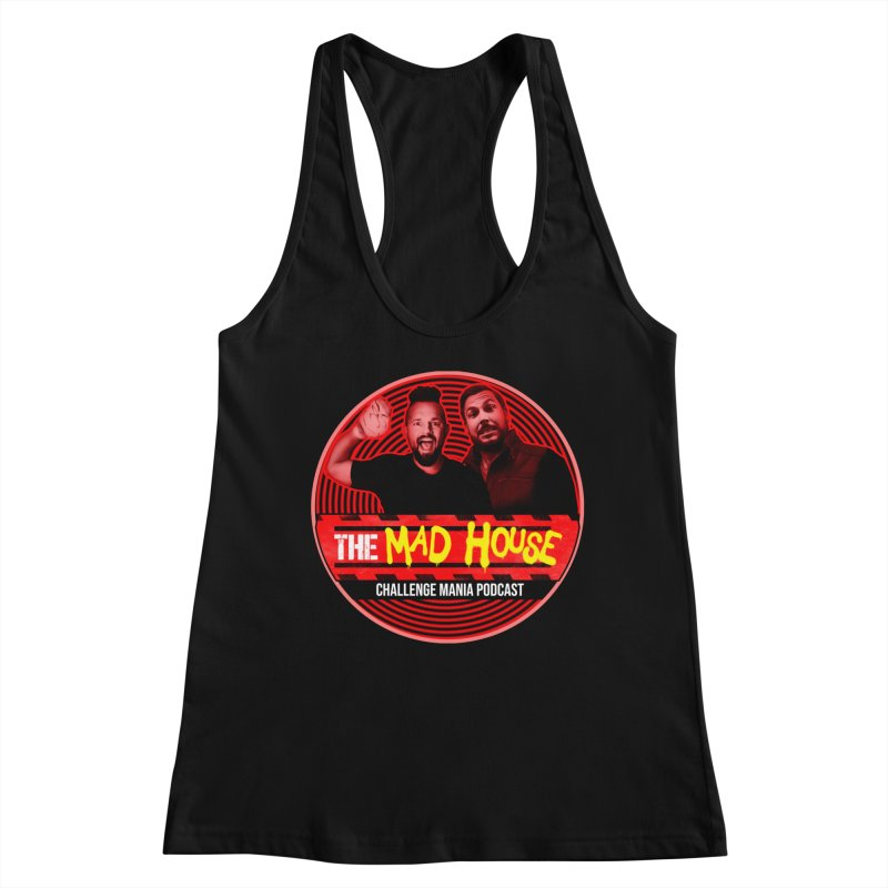 MAD HOUSE Women's Racerback Tank by Challenge Mania Shop
