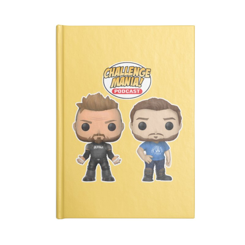 FUN SIZE Accessories Notebook by Challenge Mania Shop