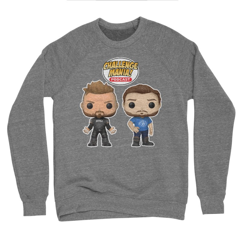 FUN SIZE Men's Sponge Fleece Sweatshirt by Challenge Mania Shop