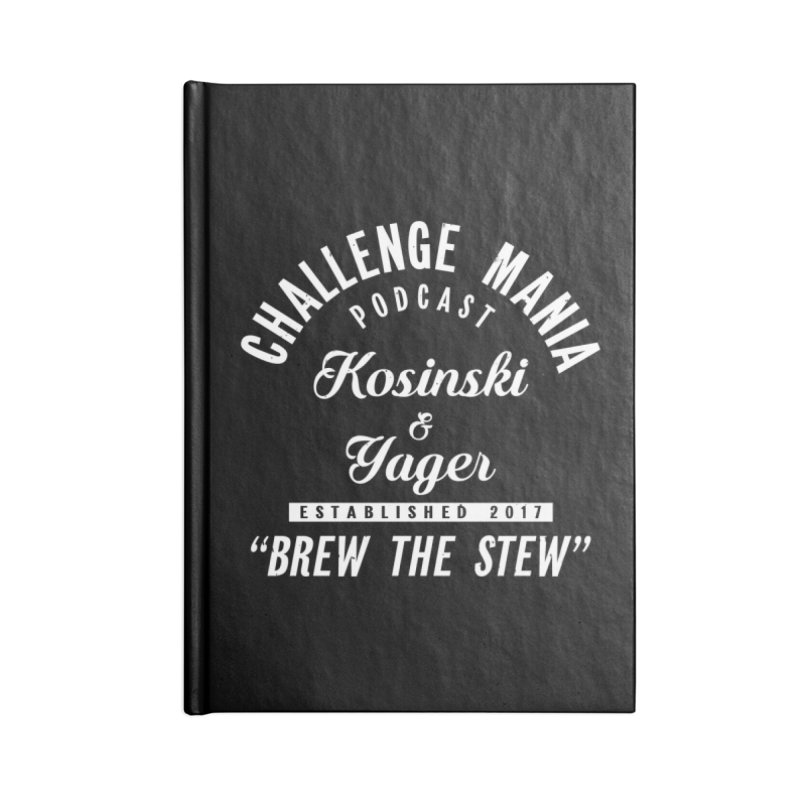 Challenge Mania Relic Accessories Notebook by Challenge Mania Shop