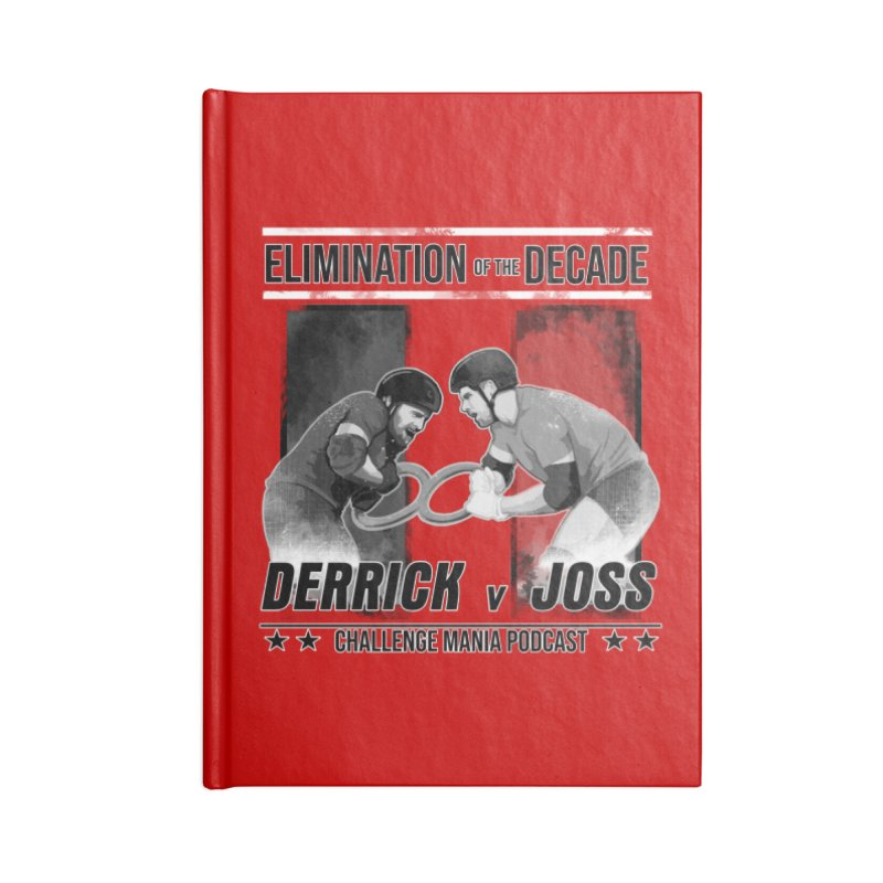 Elimination of the Decade Accessories Notebook by Challenge Mania Shop