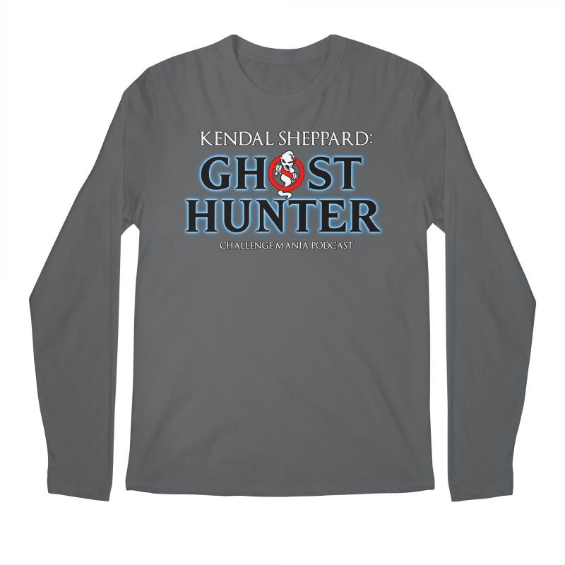 Kendal the Ghost Hunter Men's Longsleeve T-Shirt by Challenge Mania Shop