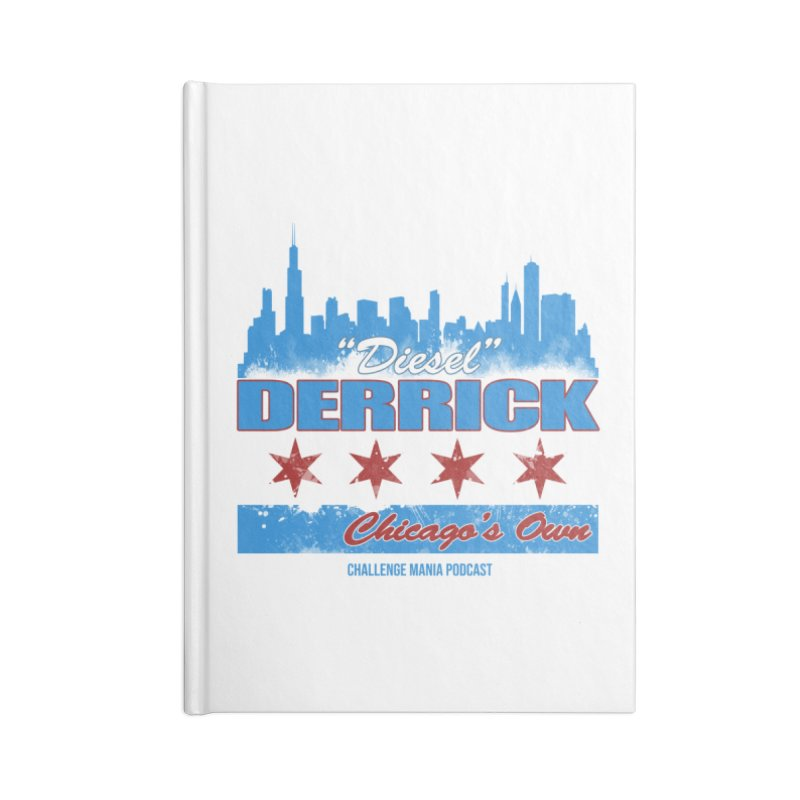 Chicago's Own Accessories Notebook by Challenge Mania Shop