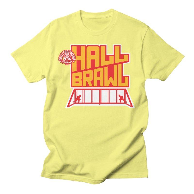 Hall Brawl Men's T-Shirt by Challenge Mania Shop