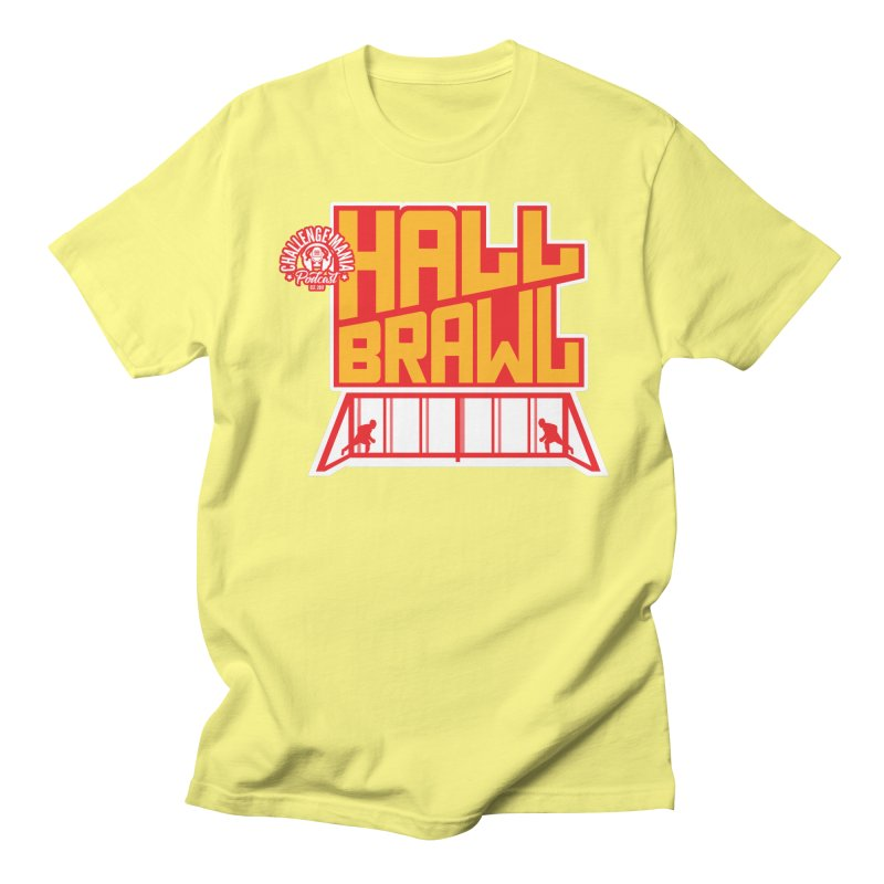 Hall Brawl Men's T-Shirt by Challenge Mania Shop