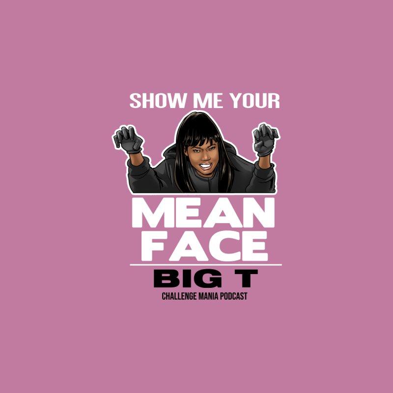 BIG T - MEAN FACE Accessories Neck Gaiter by Challenge Mania Shop
