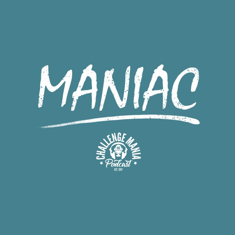 MANIAC (2) Accessories Notebook by Challenge Mania Shop