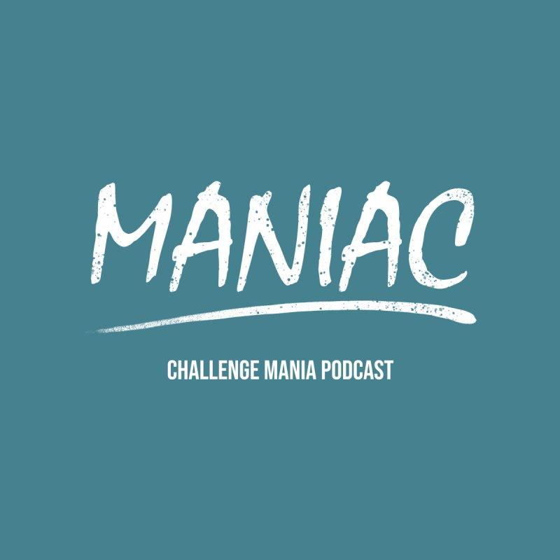 MANIAC (1) Men's T-Shirt by Challenge Mania Shop