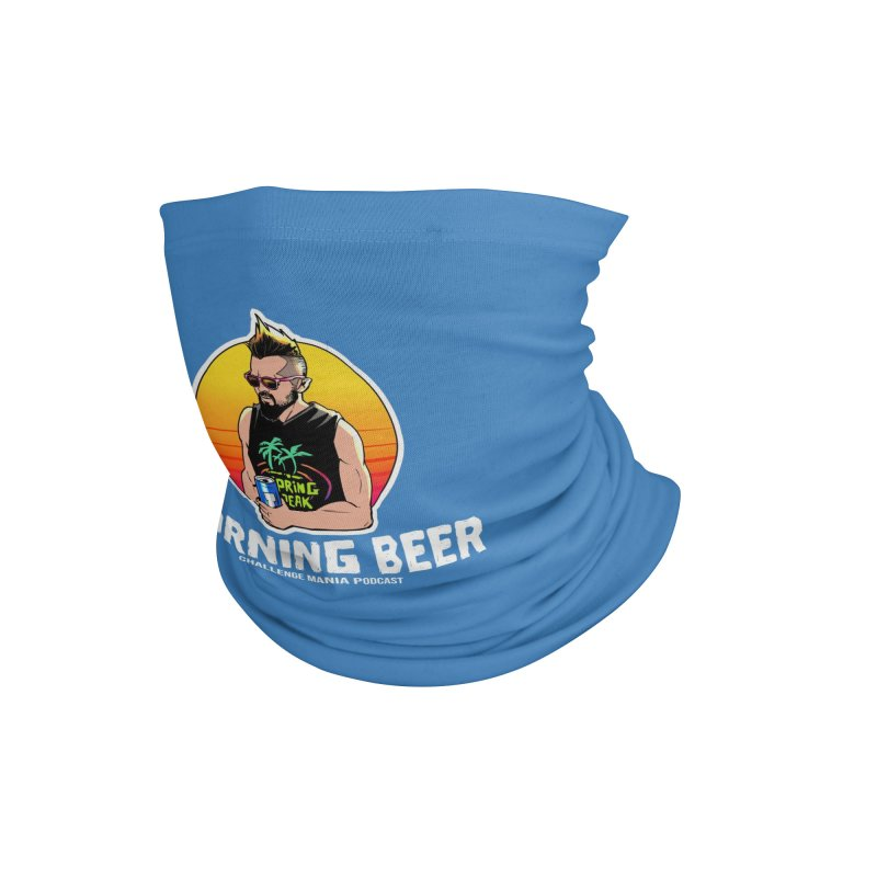 Morning Beer (White) Accessories Neck Gaiter by Challenge Mania Shop