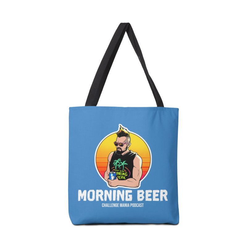 Morning Beer (White) Accessories Bag by Challenge Mania Shop