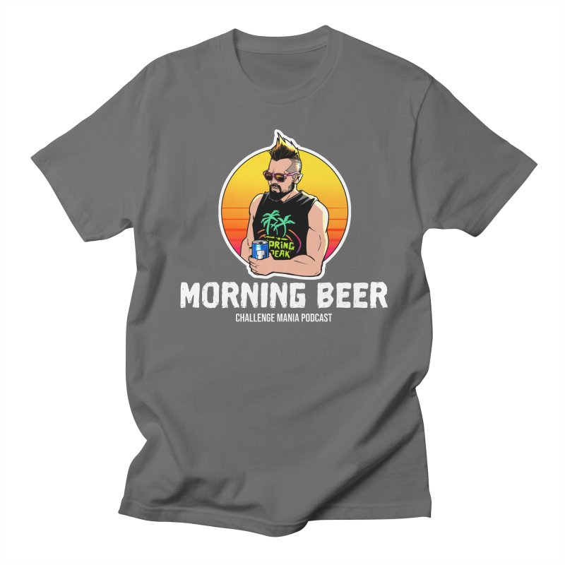 Morning Beer (White) Men's T-Shirt by Challenge Mania Shop