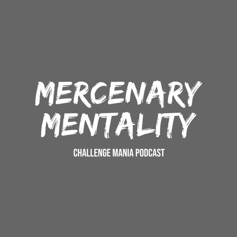 Mercenary Mentality White (1) Men's T-Shirt by Challenge Mania Shop