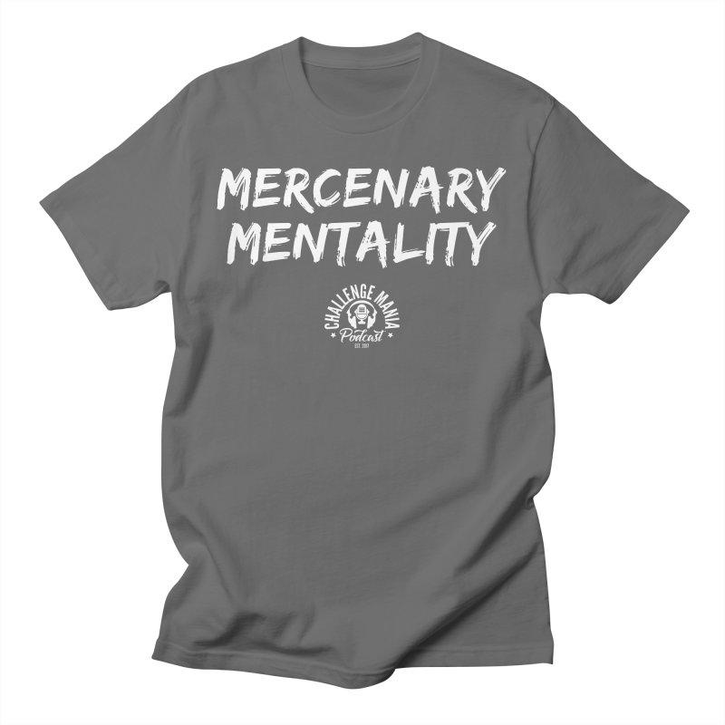 Mercenary Mentality White (2) Men's T-Shirt by Challenge Mania Shop
