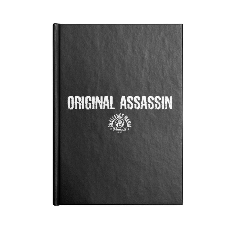 ORIGINAL ASSASSIN (White) Accessories Notebook by Challenge Mania Shop