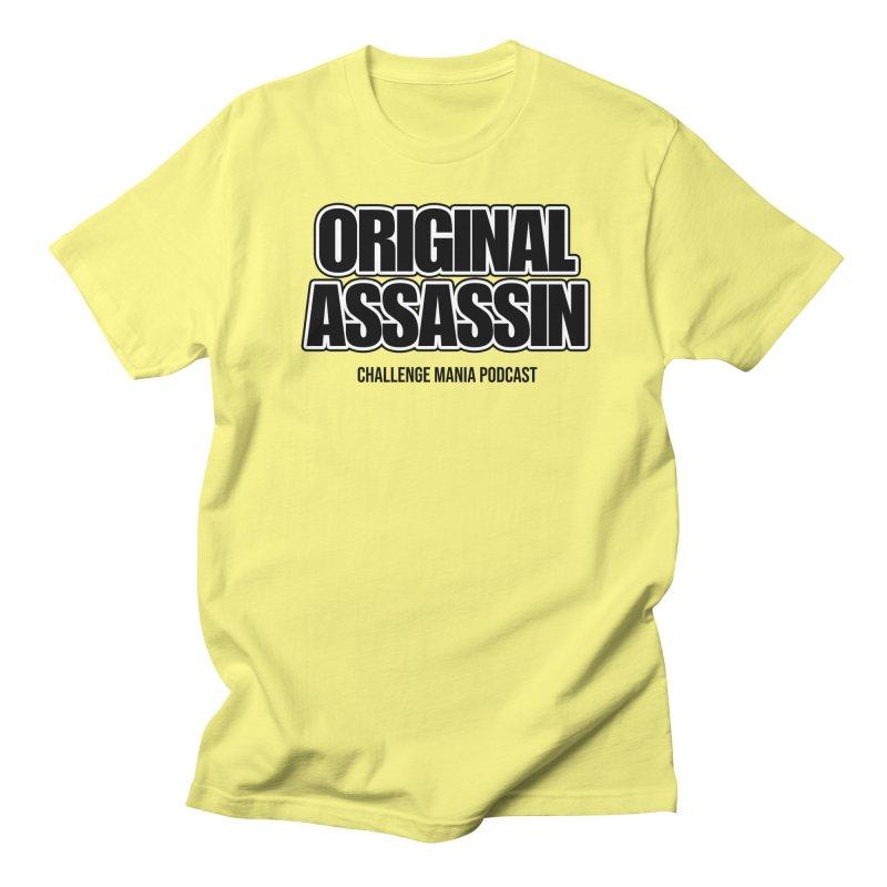 ORIGINAL ASSASSIN (Black) Men's T-Shirt by Challenge Mania Shop