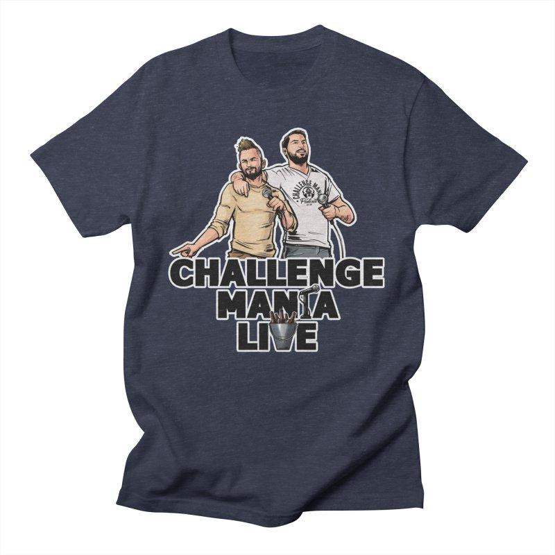 CM LIVE Men's T-Shirt by Challenge Mania Shop